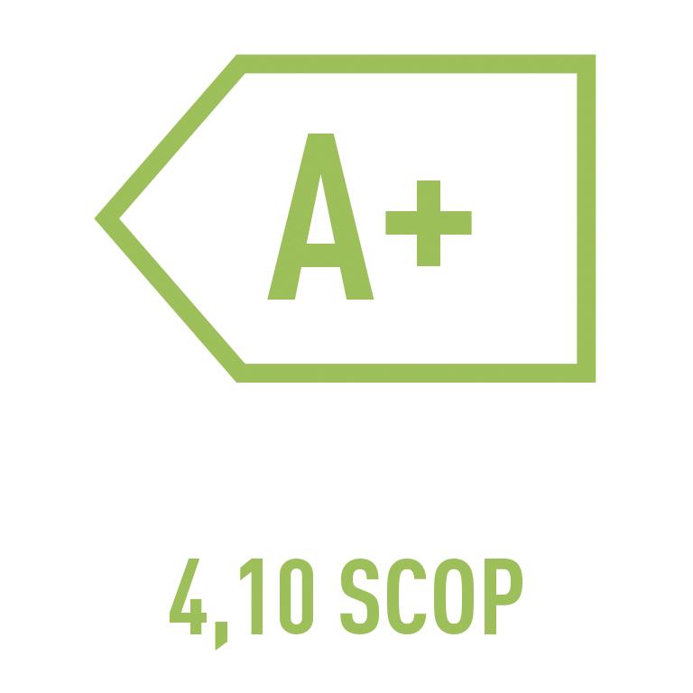 A+ 4,10 SCOP