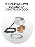 Set za povezavo bojlerja za sanitarno vodo