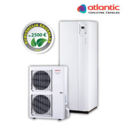 Toplotna črpalka Atlantic - Alfea Excellia Duo 14 kW
