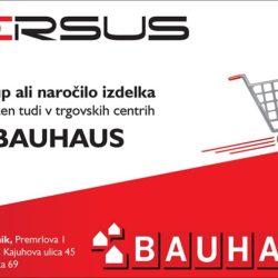 Nakup ali naročilo izdelka v Bauhausu