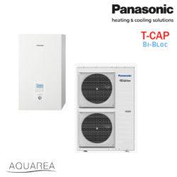 T-CAP - Split, enofazna, za ogrevanje in hlajenje, 9 kW, 200 m2