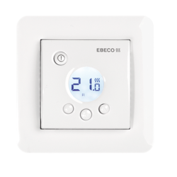 V set je že vključen termostat: Eb therm 205