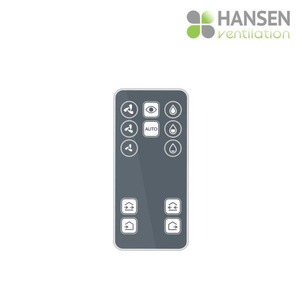 HANSEN ECO Active 150 rekuperator lokalno prezračevanje daljinec upravljanje