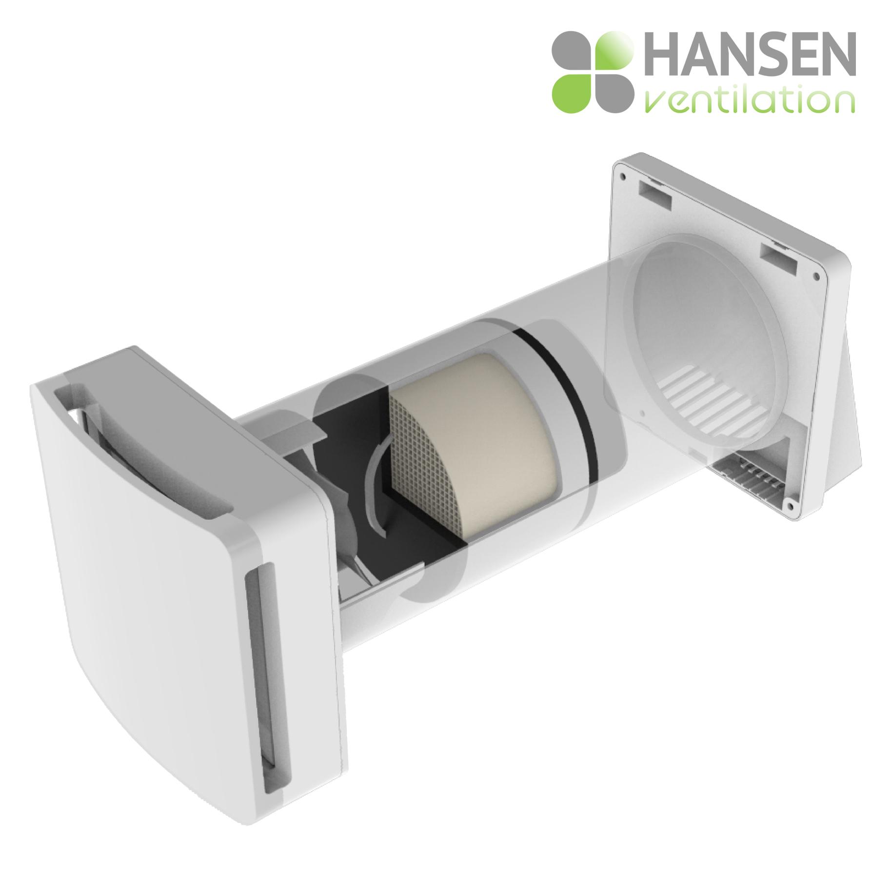 HANSEN ECO Active 100 rekuperator lokalno prezračevanje