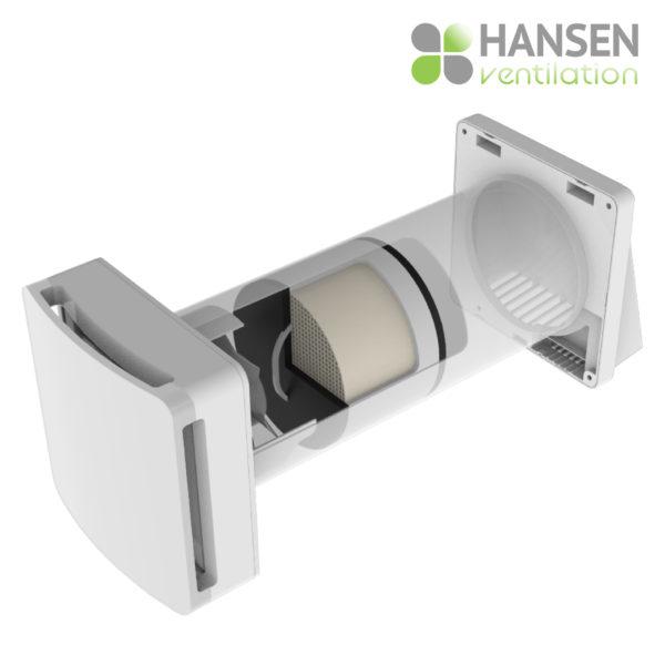 HANSEN ECO Wireless 150 rekuperator lokalno prezračevanje