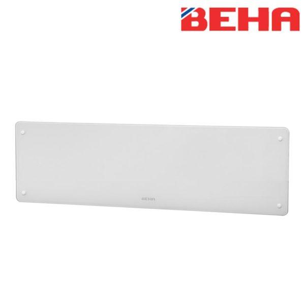 Varčni električni stekleni radiator BEHA, 750 W, 1060 x 223 x 89 mm