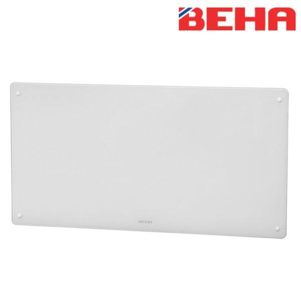 Varčni električni stekleni radiator BEHA, 1000 W, 812 x 417 x 89 mm