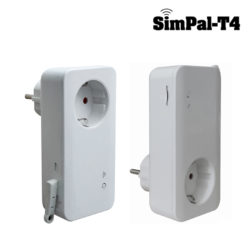 Pametna električna vtičnica SimPal T4