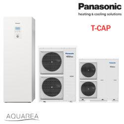 Panasonic, toplotna črpalka, T-CAP - All in One, trofazna, 12 kW